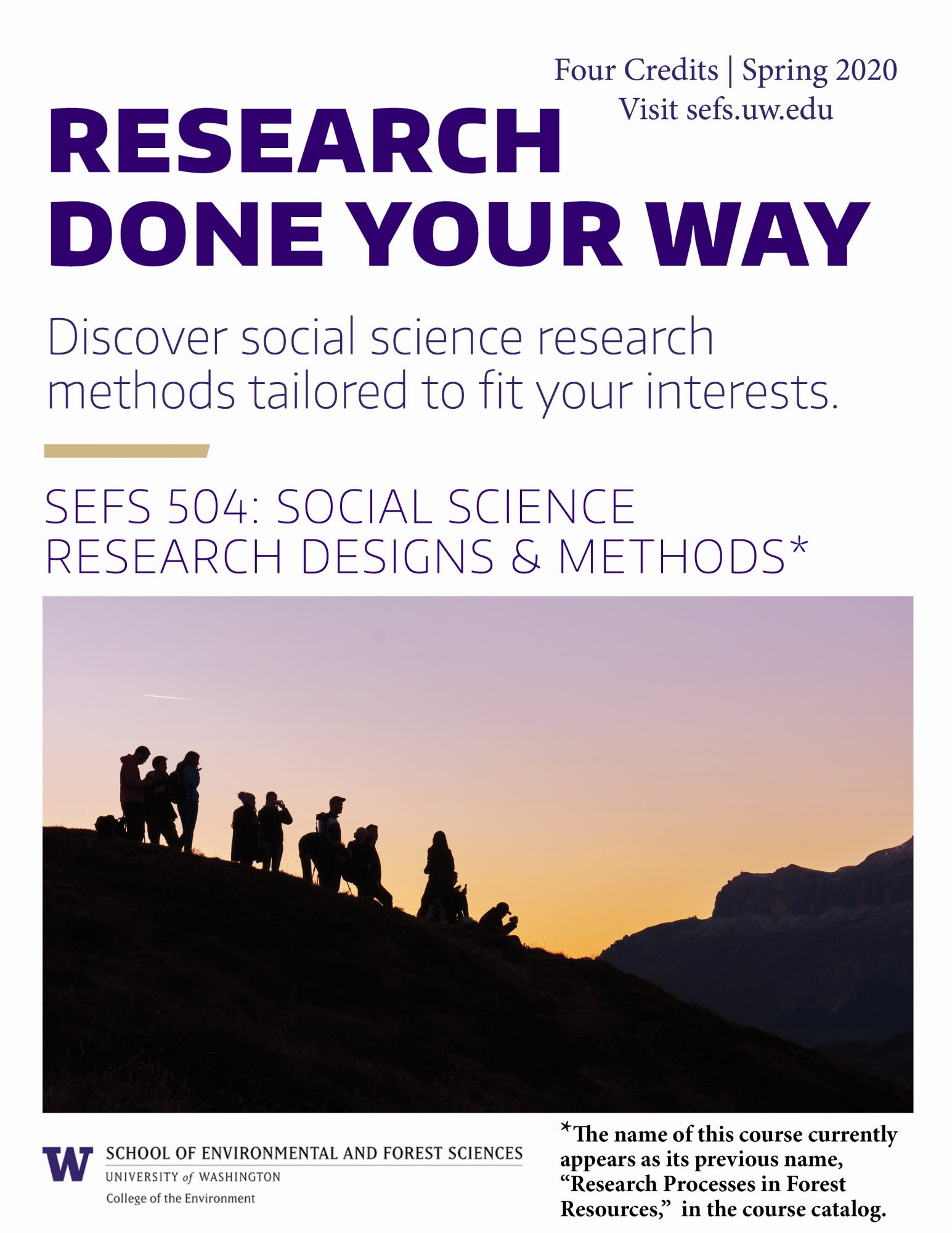 Social Science Research Done Your Way School Of Environmental And Forest Sciences